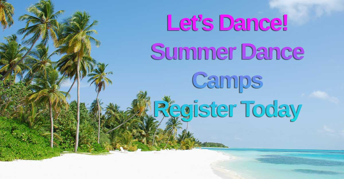 Summer Dance Camps Banner for Events